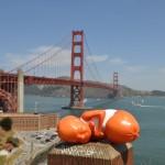 Golden-Gate-Bridge-mit-3D-Druck-Figur