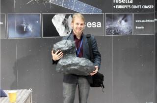 SLA-3D-Druckmodell-Komet
