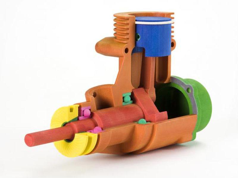 CJP-Bauteil-aus-Polymergips