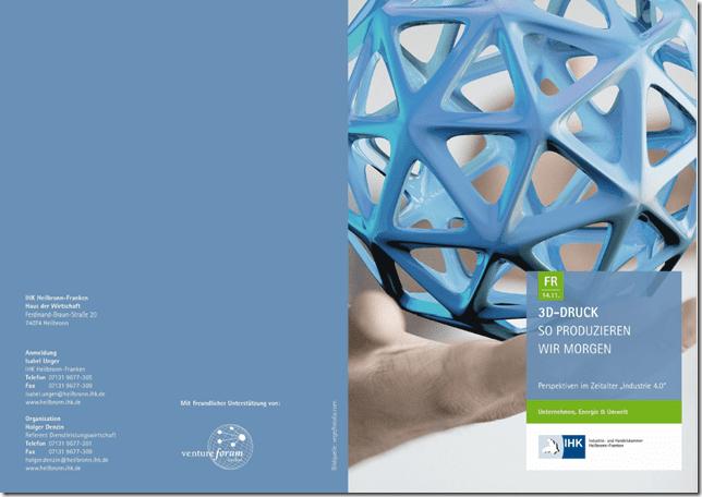 IHK Vortrag über 3D-Druck-Technologien