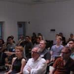 Publikum Architektur-3D-Druck-Vortrag