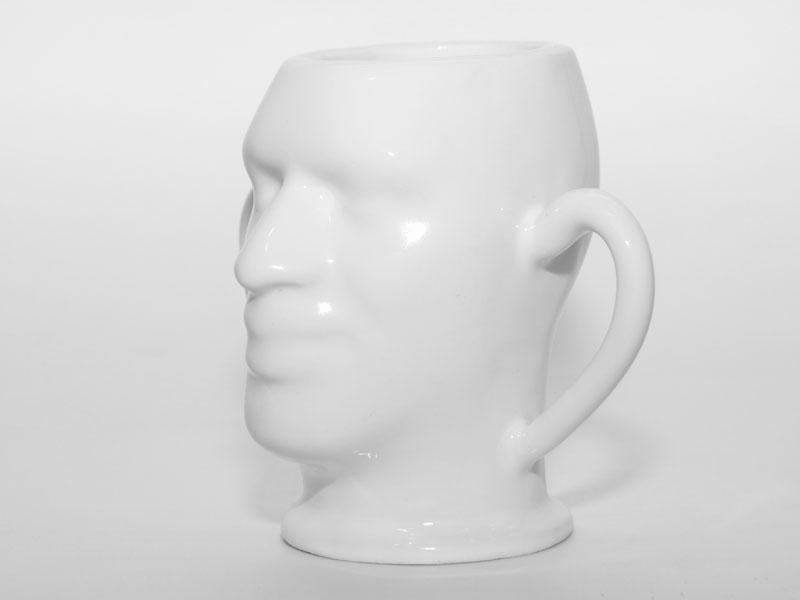 Tasse aus 3D Porzellan
