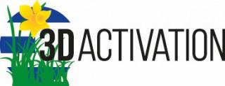 Frühlingslogo-3D-Activation