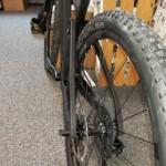 Ansicht des Thömus-3D-Druck-Fahrrads von Hinten