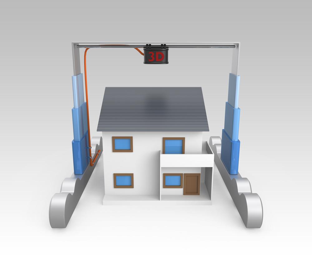 Beautiful Symbolbild Für Häuser 3D Druck