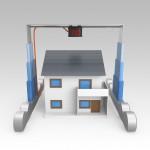 Printer für Häuser 3D Druck